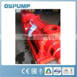high-level building XBD series vertical turbine centrifugal fire pump