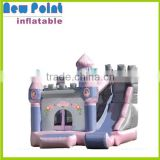Holiday elephant inflatable combo bouncer house for kids little tikes bounce house with slide