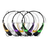 New brand sport bluetooth headphone HBS760 wireless bluetooth headset passed CE,FCC,Rohs,BQB,MSDS certificates
