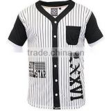 2016 OEM service adults baseball uniforms sportswear cheap wholesale plain baseball jerseys
