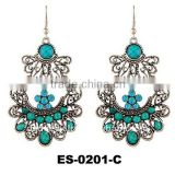 Fashion custume earring, large chandelier earrings