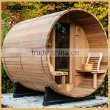 Hot selling outdoor sauna steam room,outdoor sauna rooms,outdoor wooden sauna barrel                                                                         Quality Choice