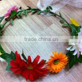 Any Colour Or White Rose Flower Headband crown Hair Head band Daisy Chain Wreath Crown H1051