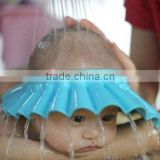 Adjustable Soft Baby Kids Shampoo Bath Shower Cap Hat Wash Hair Shield