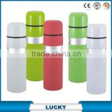 Orange Glass Thermos Feeding Baby Bottle Vacuum Flask
