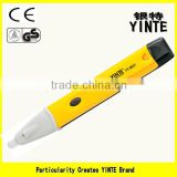 China factory Non-contact detector voltage tester pen with sound and fire alert ,power-no test
