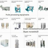 Fruit processing equipment plant