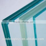 Anti-Beaten Safety Laminated/Wired Glass With High Quality And Best Price For Building Glass