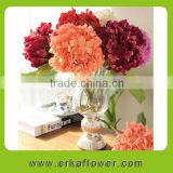 Free deluxe flowers fresh cut hydrangea decoration for main table in wedding banquet.