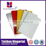 Alucoworld China Supplier Antibacterial Mirror Aluminum Composite Panel For outdoor Wall Cladding