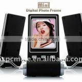 "Mini 2.4 "" LCD Digital Photo Picture Slideshow Frame + USB Cable"
