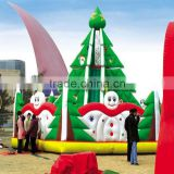 Customized Hot Sale Outdoor Large Inflatable Christmas Decorations For Holiday Christmas
