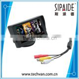 "SPD61 Classic Style 4.3"" TFT LCD Rearview Car Monitors for DVD GPS Reverse Backup Camera Vehicle driving accessories"