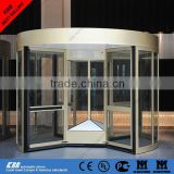 revolving door from china supplier with low price with Germany motor radar sensor security glass with CE certificate