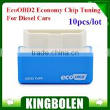 2015 Newly EcoOBD2 Diesel Car Chip Tuning Box Plug and Drive OBD2 Chip Tuning Box Lower Fuel and Lower Emission in stock