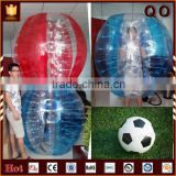2015 Attractive design football game body zorb bumper ball inflatable ball suit