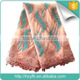 Popular French lace materials for Africans latest french tulle fabric birthday party dress net fabric wholesale