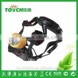 Waterproof 2000LM CRE E XM-L T6 Zoom LED Headlight Headlamp Head Lamp Light Zoomable Adjust Focus lantern