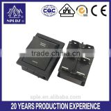 6 pin DPDT on-off-on rocker switch KCD4-201 15A/250V                                                                         Quality Choice