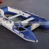 Aluminum Hull Material and CE Certification inflatable boat fishing boat for sale