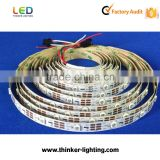 Wholesale Price 30leds per meter Alibaba trade assurance Waterproof RGB Ws2812b Led Strip