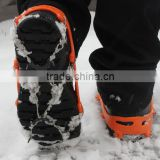 Ice Gripper Winter Outdoor Crampons Antiskid antislip Shoe Covers Climbing Claw Snow Hiking Ski Shoes Nail Chain 8/12/18 Teeth