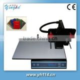 gold foil hot stamping machine YH-3050A for book cover