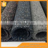 Trade Assurance of easy clean epdm rubber carpet flooring in roll/rubber floor mat roll