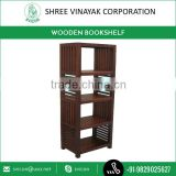 Antique and Simple Design Wooden Bookcase from Market's Top Ranked Company