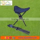 Lightweight folding tripod stool with 100% polyester bag