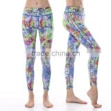 Sublimation Printed Capri, Skinny Sports Pants, Dri Fit Gym Wear, Sexy Belly Dance Tights, Fitness Yoga Leggings in Shanghai
