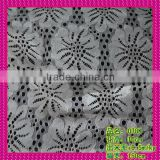 China factory Beige Color for Knitted Technics White Lace Fabric