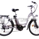 "Classic style CE approved 26"" Aluminum alloy 36V Lithium battery ebike"