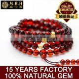 Amber jewelry wholesale natural generation Succinum Bracelet hand on multi male and female beads 108 ring