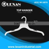 "467 ONS - 17"" Plastic Hanger with Plastic Hook for Tops, Shirt, Blouse (Philippines)"