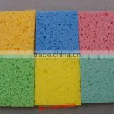 natural cellulose viscose sponge with scouring pad car cleaning