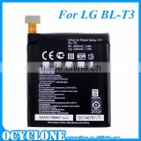 For LG Optimus VU F100 P895 Lithium Battery BL-T3 EAC61798901 2080mAh