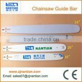Chain Saw spare parts, different types of chainsaw guide bars