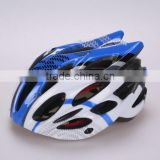 China wholesale PC in-mould sport bicycle helmet (with 22 air vents ) with good quality and safety