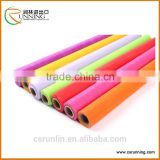 polyester non woven flower wrapping paper