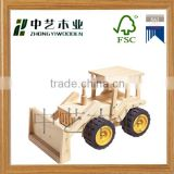 trade assurance KD antique toys wooden toy wooden fire truck to be assemble wooden truck                                                                         Quality Choice