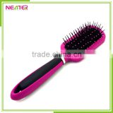 High quantity ceramic straightening professional hair straightening brush with spary pump