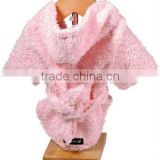 HOODED TOWEL BABY BATHROBES/POLAR FLEECE BATHROBE/CHILDREN'S BATHROBE
