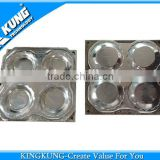 1 mould 4 cavity customized melamine small plate/dish mould