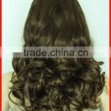 Curly Brown Hair Hair Wigs Factory Directly,High Quality & Good Price