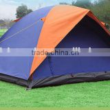 Double Layer one-touch auto-umbrella frame silver coated Camping Tent