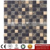 IMARK Electroplated Color Glass Mix Ceramic Mosaic Tiles (IXGC8-093) for back splash mosaic wall art