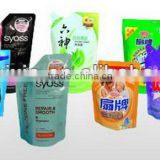 Stand up Bag, body wash and shampoo product