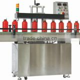 Zhongshan automatic induction aluminum foil sealing machine for pesticide(production line)