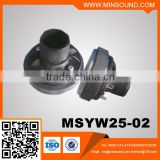 MSYW25-02 30W Small Tweeter Speaker Titanium Compression Driver Unit